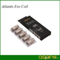 Aspire Atlantis EVO Spule 0.4 Ohm 0.5ohm Clapton Spule Kopf mit doppelter Dochtwirkung für Atlantis EVO Tank 100% Original