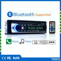 YENTL Bluetooth Audio Stereo 60WX4 12 V In-dash 1 Din FM Aux-eingang Mp3 Player Radio USB / TF / AUX / FM Auto MP3 Player Remote Decoding Board