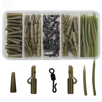 120pcs Carp Fishing Tackle Accessories Carp Rigs Tackle Safe...