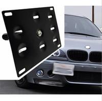 Auto / Auto Double / Single Adapter Voorbumper Trekhaak Kentekenplaat Montagebeugel Houder Fit voor BMW 3 5 6 x Mini MAZDA AUDI A4 2010-2015