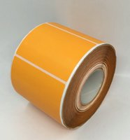80*50MM 800PCS roll direct print blank paper sticker color p...