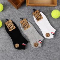 Männer Sport Socken Fashion Striped Cotton Socken Hausschuhe Für Männer Outdoor-athleten Atmungsaktive Socken Für Männer