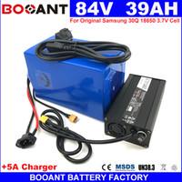 84V 40AH Lithium ion Battery pour 8FUN 1500W 2000W 5000W Moteur 23S 84V E-bike Batterie au lithium + 5A Chargeur Livraison Gratuite