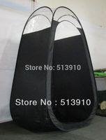 خيمة دباغة سوداء اللون مع نافذة من البلاستيك في أعلى جودة شعبية في السوق الأمريكية الأوروبية