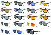 새로운! 18Colors 남성의 여성 디자이너 태양 안경 패션 스타일 야외 사이클링 안경 고글 선글라스는 빠른 배송.