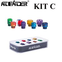 Original Aleader Epoxy Resin Drip Tip Kit A with 8pcs 810 Se...
