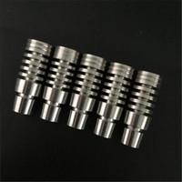 Domeless Титан ногтей как для 14 мм и 18.8 mm набор для стекла бонг стекло водопровод(ТН-002)