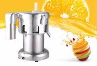 عصير عصارة الفولاذ المقاوم للصدأ التجارية 220V / 550W / 2800r / min حجم العصير: 100-120 كجم / ساعة عصارة آلة LLFA