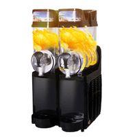 Beijamei Complètement automatique 2 réservoirs neige fondante machine commerciale slush machine électrique smoothies machine à vendre