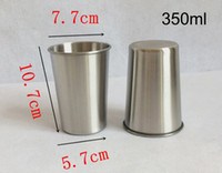 350ML Stainless Steel Cup Water Beer Coffee Tea Travel Cups ...
