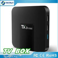 TX3 mini Smart Android 7.1 TV BOX 2GB 16GB Amlogic S905W Set-top box Quad Core H.265 4K 2.4GHz WiFi IPTVBox TX3mini 1GB 8GB MQ05