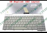 Acer Aspire 4710 4220 4320 4520 4720 5300 5720 5920 그레이 화이트 영국 (GB) 영어 - V072146AK1 영국을위한 새로운 노트북 키보드