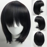 New Fashion Straight Short Wigs Party Cosplay Wig Short Blac...