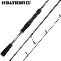 KastKing Perigee 1.98M / 2.13M 2 Tip Spinning Baitcasting 낚싯대 MF MH 액션 7-14g Lure Weight Casting Lure 낚싯대