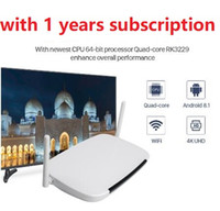 IPTV Arabic Android 6.0 Smart IP TV-Box TV-Empfänger Arabic IPTV Europe Französisch IPTV Box 1 Jahr NOKETV Code Media Player