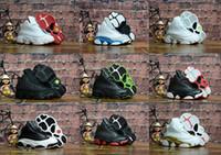 Großhandel Nike Air Jordan 13 Retro 2018 13s OG Black Cat