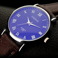 DHL Brand Yazole Watch Simple Blu- ray Quartz Watch Analog Sc...