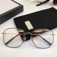 새로운 안경 프레임 여성 남성 브랜드 안경테 브랜드 안경 프레임 클리어 렌즈는 0396 oculos 프레임 안경