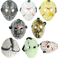 6 Stil Full Face Masquerade Masken Jason Cosplay Schädel Maske Jason vs Freitag Horror Hockey Halloween Kostüm Scary Maske Festival Party Masken