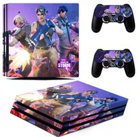 Fortnite Battle Royal PS4 Slim Skin Sticker For Game Machine...