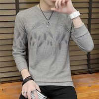 Sweater Men Autumn Winter Thick Warm Mens Sweaters Casual O-...