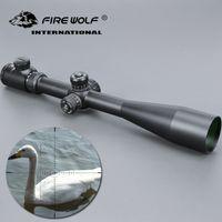10-40x50 طويلة المدى riflescope الجانب عجلة المنظار البصرية البصر نطاق بندقية الصيد نطاقات قناص luneta الفقرة بندقية