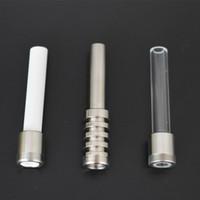 Conseils en céramique de quartz Titanium ongles pour honeybird Quartz Tip Vapé Micro V4 Kit Gr2 Titanium