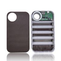 전화의 전화 LG 휴대용 충전 13000mAh의 USB 전원 은행 5x18650 배터리 충전기 DIY 상자 케이스 홀더 외부를 poverbank