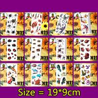 Akrep Kral 3d Geçici Dövme Vücut Sanatı Flaş Dövme Etiket 19 * 9 cm Su Geçirmez Sahte Dövme Ev Dekor Duvar Sticker