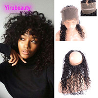 Peruvian Virgin Hair Lace Frontal 360 Free Part 8- 22inch Wet...