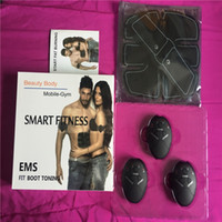 New Smrat Wireless Muscle Stimulator EMS Stimulation Body Sl...