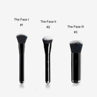 MJ DAS GESICHT I / II / III Flüssige Sculpting / Buffing Foundation Pinsel Nr.1 / 2/3 - Box Package Qualität BB Creme Foundation Beauty Make-up Pinsel