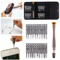 25 en 1 outils de réparation de tournevis multi-fonction pour téléphone portable lunettes b00508