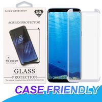 Case Friendly Tempered Glass For Samsung Galaxy S9 S8 Plus F...