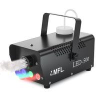 Sahne, Club, Parti, Disco için kablosuz Uzaktan Kumanda ile 500w Led RGB Sis Makinesi Portatif Duman Makinesi