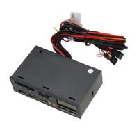 """Freeshipping 5.25 """"USB 3.0 e-SATA All-in-1 PC Media Dashboard Multi-función del panel frontal Lector de tarjetas E / S Puertos"""