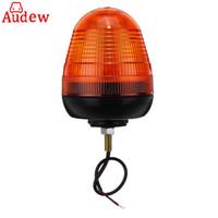 1pcs 범용 자동차 LED 깜박이 앰버 비콘 1 볼트 트럭 트랙터 경고 스트로브 빛 12V / 24V
