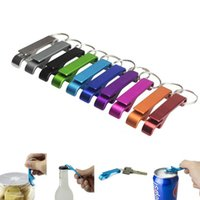 Beer Bottle Opener Keychain 4 in 1 Pocket Mini Portable Alum...