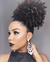120g afro ponytail extension human hair ponytails afro kinky...