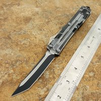 HOT mic ultratech 121 knife black single- edged Hunting Foldi...