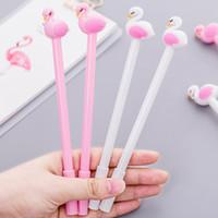 0,5mm 0,38mm 3 Stile Flamingos Gel Stift Candy Farbe Cartoion Schule Student Writting Stift Büro Schreibwaren Kinder Geschenke