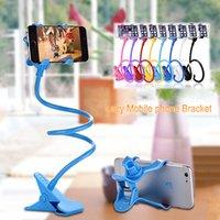 Универсальный держатель мобильного телефона 360 вращающееся крепление гибкая длинная рука ленивый кронштейн зажим ленивый кровать Tablet автомобилей Selfie клипы для iPhone Samsung