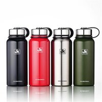 Stainless Steel Sports Bottle Vacuum Tea Cup Outdoors Hiking...