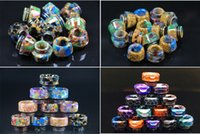 Epoxy Resin 810 Thread Drip Tips Snake Skin Colorful Mouthpi...
