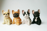 French Bulldog Ornaments Toys - 4 Colors Creative Cute Dog C...