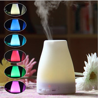100 ml Huile Aroma Diffuseur Humidificateur avec cool mode Mist réglable, sans eau Arrêt automatique et 7 LED couleur lumières Changin