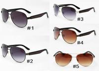 2018 새로운 패션 남자 선글라스 금속 미러 선글라스를 운전 2319 큰 프레임 남자 여자 선글라스 UV400 최고 품질 MOQ = 10