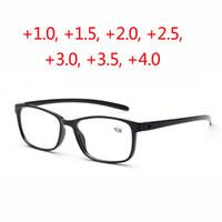 초경량 PC 독서 안경 남성 여성 노인을위한 광학 안경 함수 원시 노인 노안 검은 색 붉은 갈색 oculos 드 그로