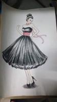 nuevo diseño de la década de 1950 Vintage cariño Escote hasta el té Puffy Ball Gown Chiffon Short Prom Dresses vestidos de noche negros con faja rosa