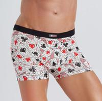 Unterwäsche Herren Boxer Baumwolle Boxer Herren Homme Boxershorts Unterwäsche Herren Höschen Mode Sexy Unterhose